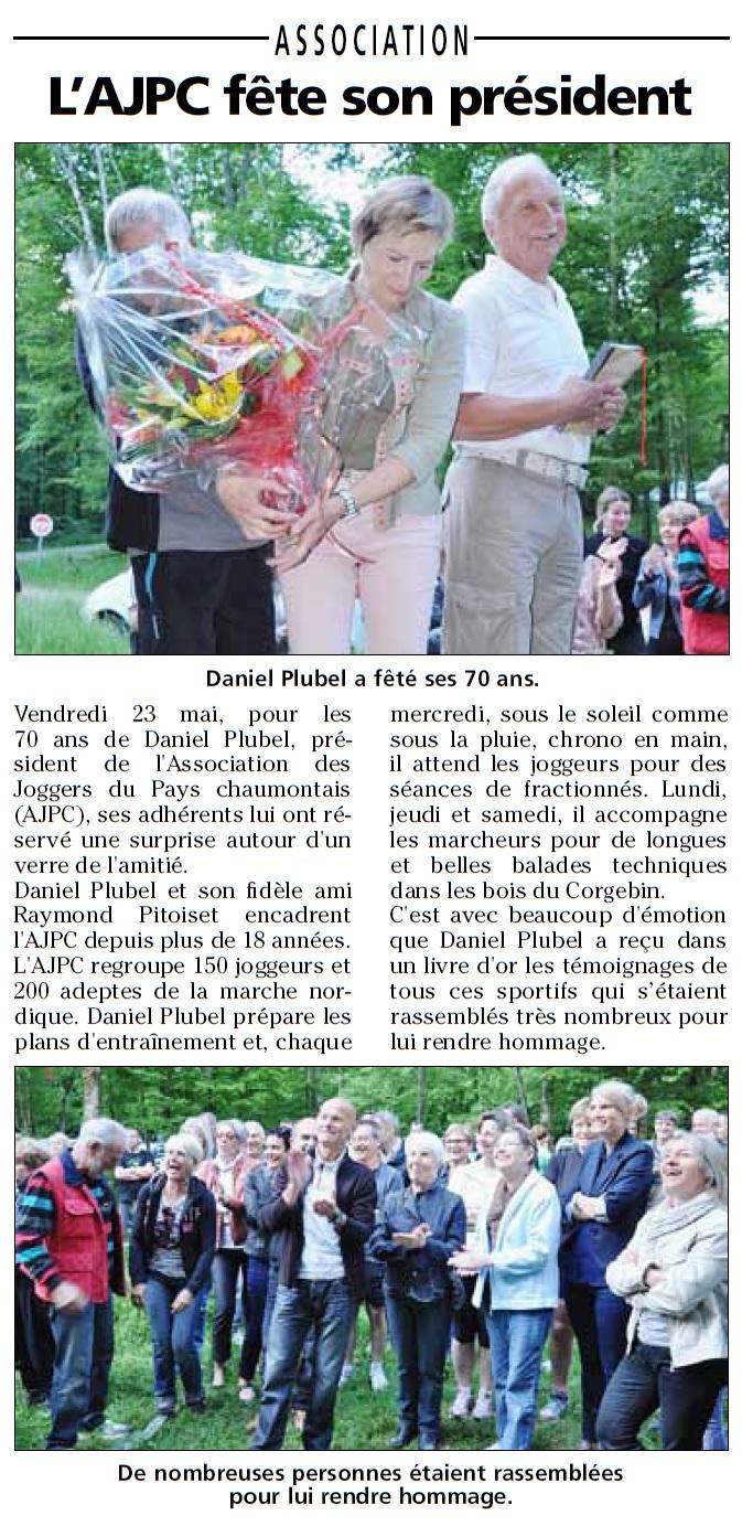 70 ans Daniel