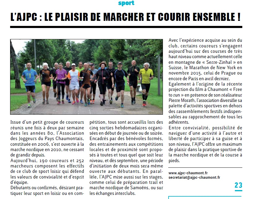 Chaumont info 23
